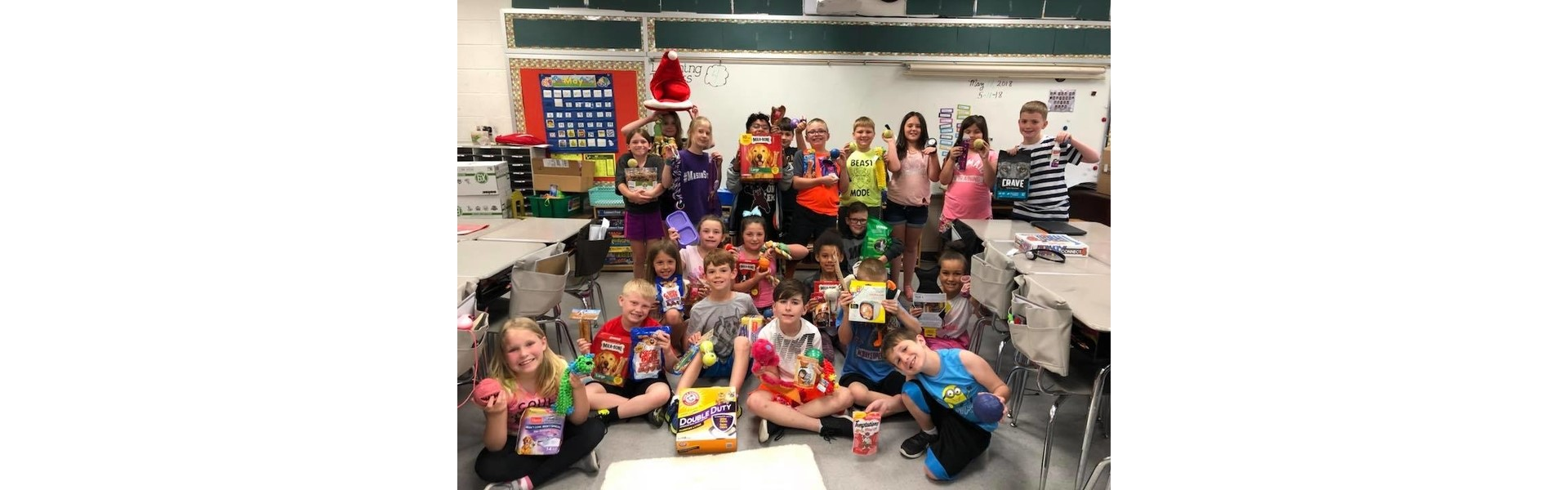 SAAP Donations from Ms. Kenneda's Class