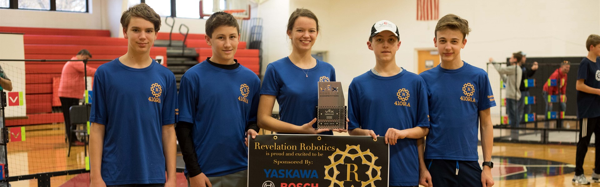 Congrats to the Vex Robotics Team for 3rd at State Qualifiers!