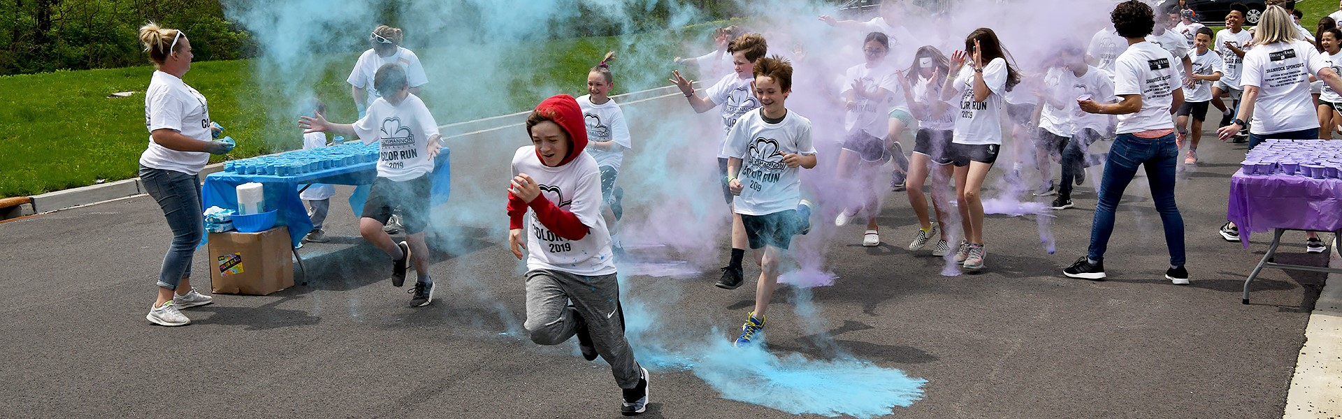 Bally Color Run 4/19