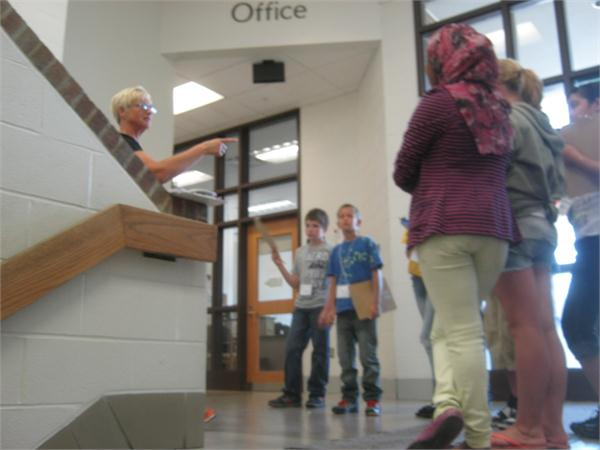 Photos taken by students during Jump Start.
