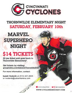 TES Cyclones Night!