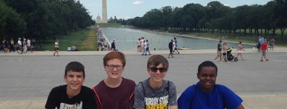 Students in Washington D.C