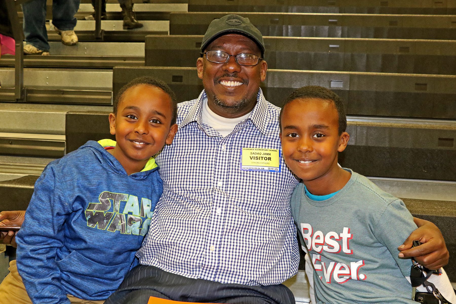 Strong Fathers at Florence Elementary