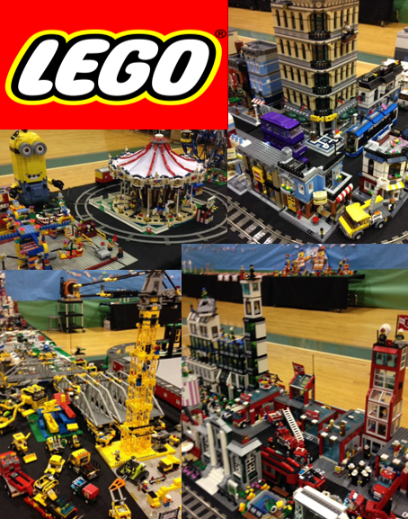 Lego Town interactive model