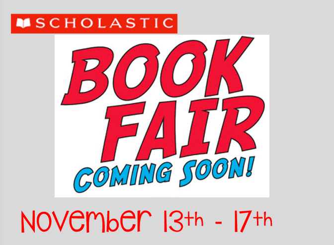 Book Fair Coming Soon